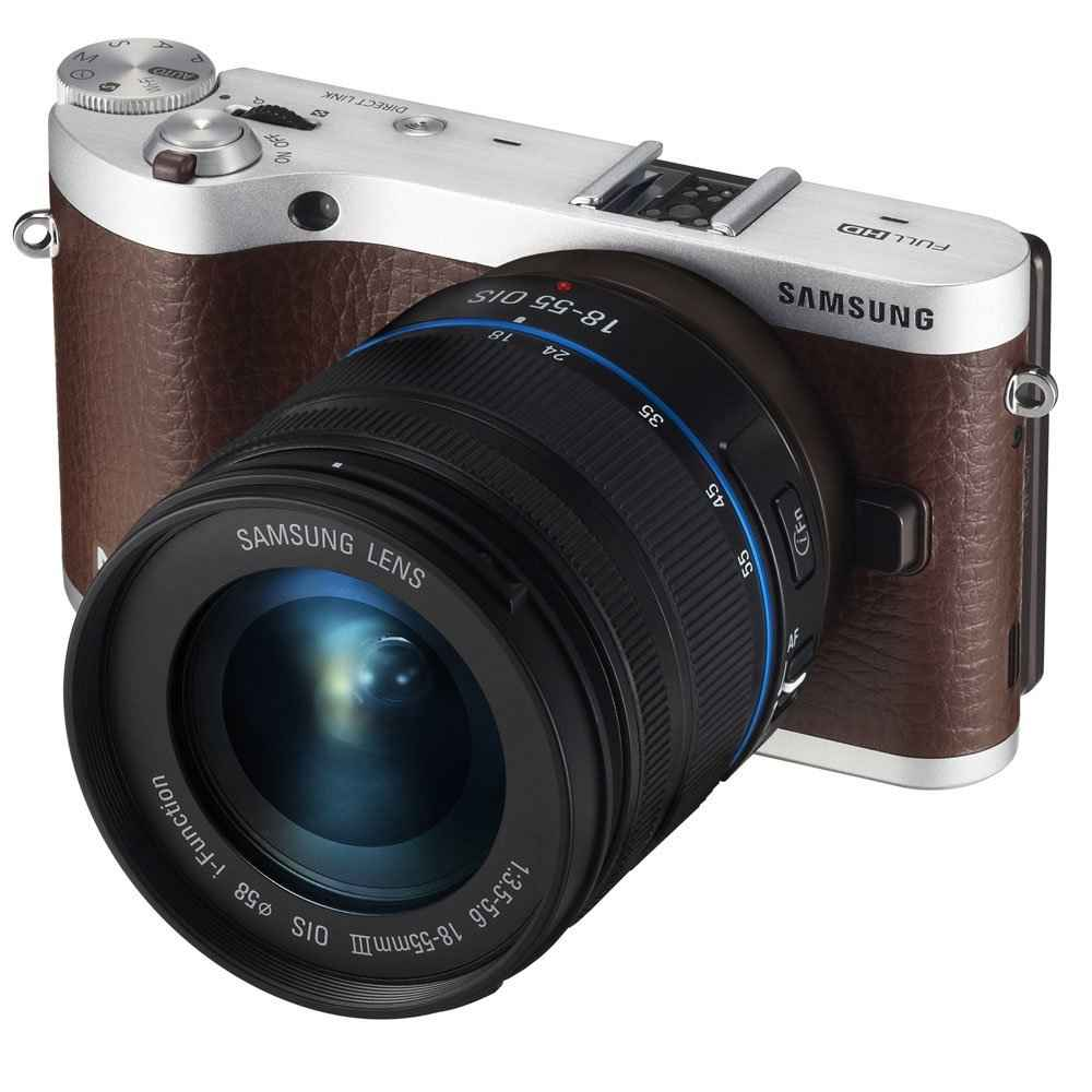 Samsung NX300 20.3MP CMOS Smart WiFi Mirrorless Digital Camera