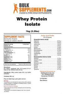 BulkSupplements-CLEAN-Whey-Protein-Powder-Review