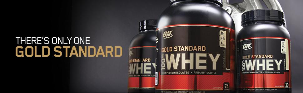 Optimum Nutrition Gold Standard 100 Whey Protein Powder Featured