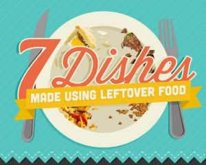 7 Dishes Made Using Leftover Food Waste Featured Image