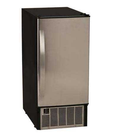 EdgeStar IB450S4 50Lb Undercounter Clear Ice Maker