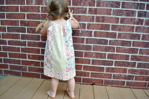 Fat Quarter Pillow Case Dress Last