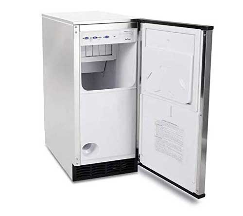 "Manitowoc SM-50A 14 3/4"" Air Cooled Ice Maker"
