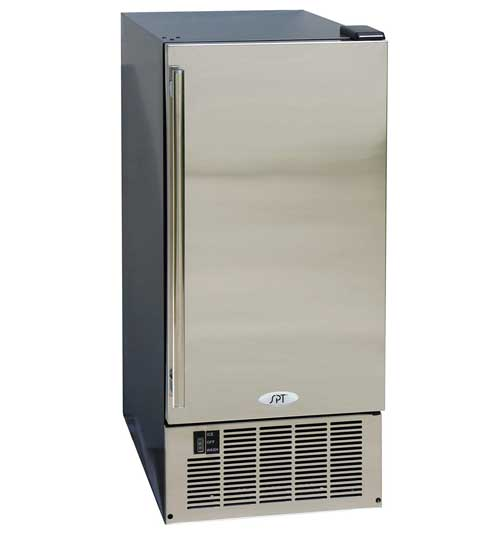 SPT IM-600US Stainless Steel Undercounter Ice Maker