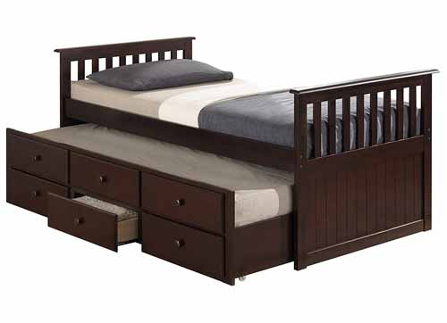 Broyhill Kids Marco Island Captain's Bed with Trundle