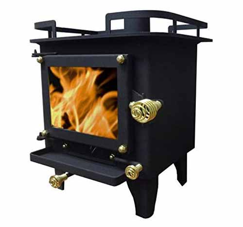 Cubic Grizzly Mini Wood Stove CB1210