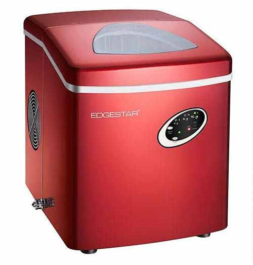 EdgeStar IP210RED Portable Countertop Ice Maker