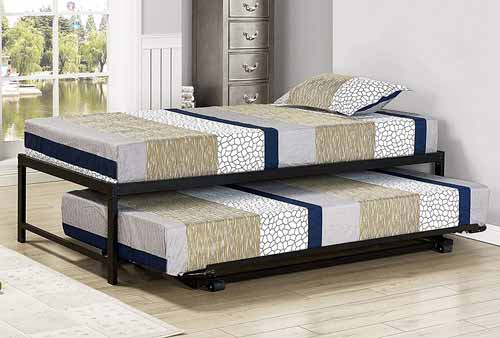Kings Brand Furniture Bed with Trundle