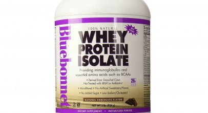 Bluebonnet Nutrition 100% Natural Whey Protein Isolate Powder Chocolate Flavor Review
